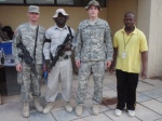 Michael w/ other Coalition Forces