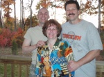 Michael with his Mom & Dad