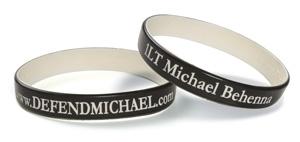 www.DefendMichael.com Wristband